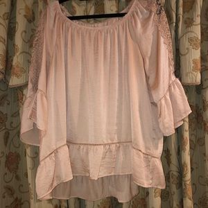 Pretty and flowy top goes with everything!